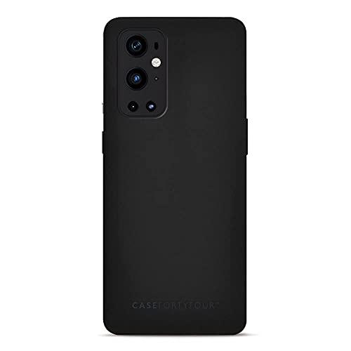 Case FortyFour No.11 para OnePlus 9 Pro Funda de cuero vegano Folio Phone en Colourway - Negro
