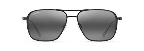 Maui Jim gafas de sol | Beaches 541-2M | Montura negro mate y lentes polarizadas gris neutro.