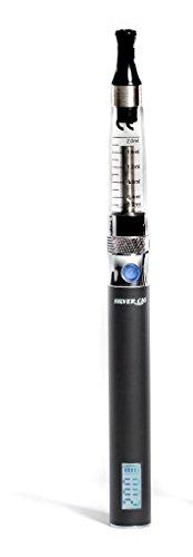Silver Cig E-Zigarette CE5+ mit Akkustand - & Puffanzeige schwarz ohne Gravur