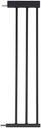 BabyGo Verlängerungsstück für BabyGo Safety Gate Treppenschutzgitter für Babys, schwarz 40511