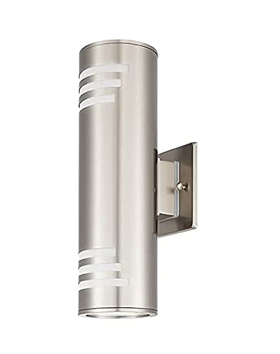 TENGXIN Outdoor Wall Sconce,Up/Down Wall Light,Stainless Steel 304 and Toughened Glass Material,E27,Waterproof,UL Listed. …