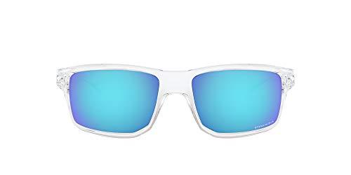 Oakley Unisex-Adult OO9449-0460 Sunglasses, Polished Clear, 60