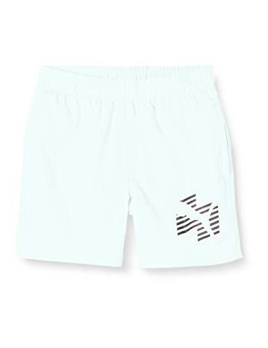 PUMA Jungen ESS+ Summer Cat B Shorts, Mist Green, 128
