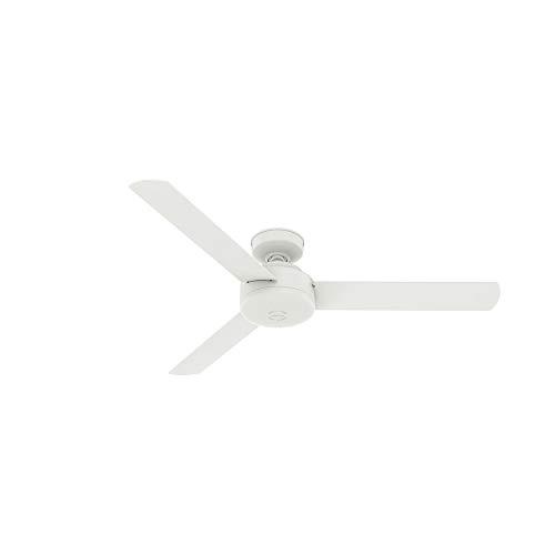 ace ceiling fans Hunter Fan Company 50811 Presto Ceiling Fan, 52, Matte White