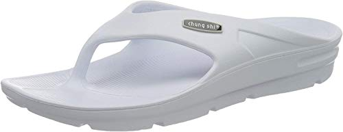 Chung Shi Unisex-Erwachsene Zori Sensi Zehentrenner, Weiß (Weiß), 38 EU