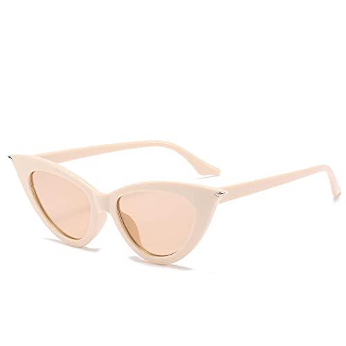 Gafas de Sol Sunglasses Gafas De Sol De Ojo De Gato De Gran Tamaño para Mujer, Gafas De Sol De Diseñador Retro con Forma De Ojo De Gato, Gafas Vintage De Lujo para Mujer,
