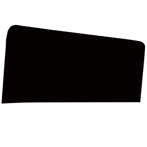 B Blesiya Elastisch Bettüberwurf Betthusse Bezug Husse Abdeckung für Kopfteil Bettkopfteil - Schwarz, 150x80cm