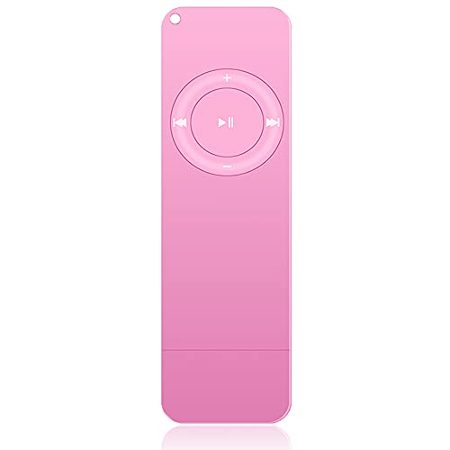 MP3 Player, Music Player with Bluetooth, Built-in Speaker, Ultra Slim Music Player, Portable HiFi Lossless Sound, Support up to 128GB