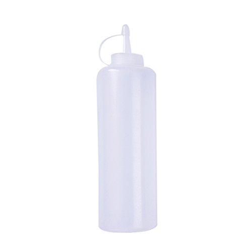 Molie 180ml/270ml /390ml /540ml/720ml Squeeze Flasche/Majoflasche/Dosierflasche/Marinadenflasche/Quetschflasche (540ml)