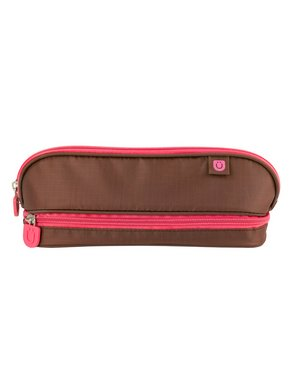 Zuca Pencil Case (Color: Brown/Pink)