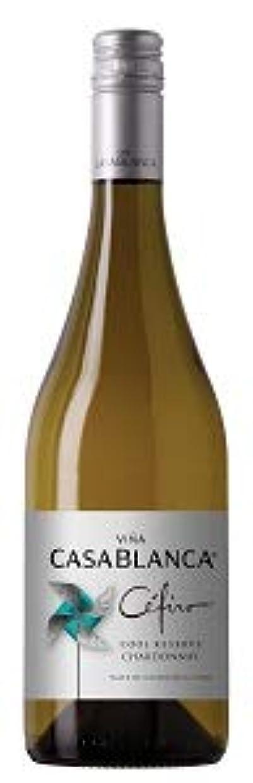 見落とす樹皮見落とすチリワイン ヴィニャ?カサブランカ セフィーロ シャルドネ 白 750ml.hn Vina Casablanca Cefiro Chardonnay8104