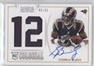 Stedman Bailey #85/99 (Football Card) 2013 Panini National Treasures - Rookie Colossal Materials - Jersey Number Signatures [Autographed] #33
