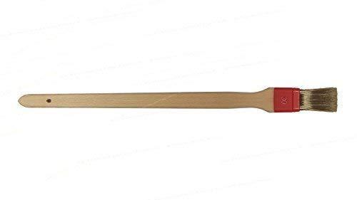 Jasol Beizpinsel 1 aus Kunststoff gekröpft mit reinen Orelborsten Edelstahl VA u.ä.