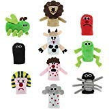 Cazenove Passover 10 Plagues Finger Puppets. Bring Plagues of Egypt to Life at The Pesach Seder Table.