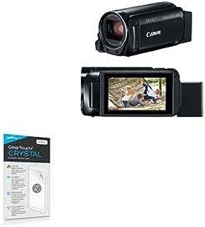 Película protetora de tela Canon Vixia HF-R800, BoxWave [ClearTouch Crystal (pacote com 2)] Película de película HD - Prot...