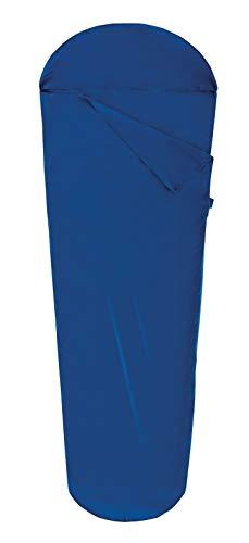 Ferrino Pro Liner Mummy, Sacco Lenzuolo Uomo, Blu, 220x80x50 cm