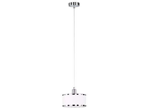 WOFI Tijdloze LED hanglampen met lampenkappen van stof - hanglamp voor een moderne plafondverlichting