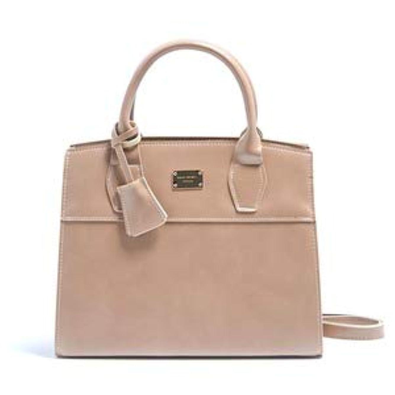 ホイストミスペンドゴミ2Wayキレイ色の上品なミニハンドバッグ/ベージュ