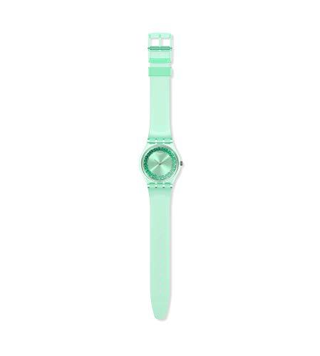 Swatch Reloj Analógico para Mujer de Cuarzo con Correa en plástico GG225