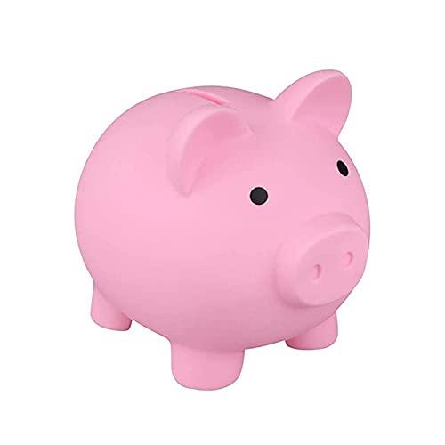 Porcellino salvadanaio di plastica, scatola di moneta di forma del porcellino sveglio, regalo adorabile per i bambini