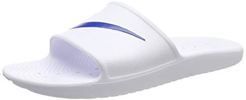 Nike KAWA Shower, Scarpe da Fitness Uomo, Bianco (White/Blue Moon 100), 45 EU