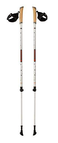 Ferrino Step en bâtons de randonnée, Gris, 85 – 135