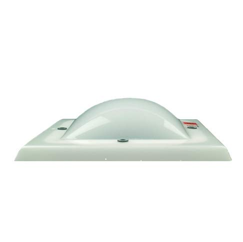 IRONLUX Cúpula para Claraboya de Metacrilato Cuadrada, Color Blanco Hielo, 54x54 cm