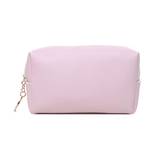 GLADMIN Bolsa de Maquillaje de Mujeres Caja de cosmética de Viaje Lavado de Aseo Bolsa Organizadores Impermeable Belleza Paquete de Almacenamiento Monedero (Color : Pink)
