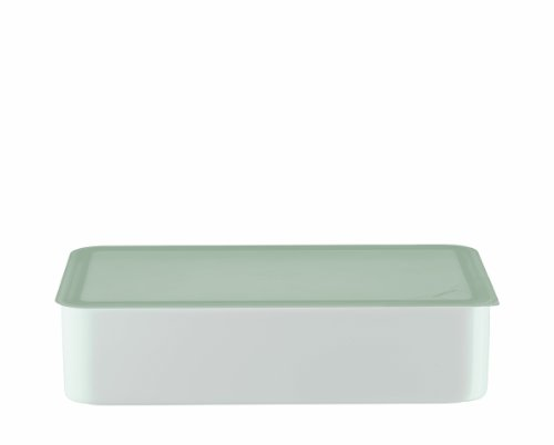 Arzberg Form 3330 Küchenfreunde Frischebox mit Kunsstoffdeckel 15 x 25cm, transparent