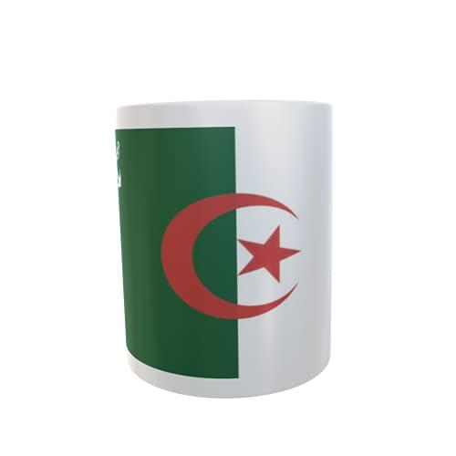 U24 Tasse Kaffeebecher Mug Cup Flagge Algerien Seekrieg