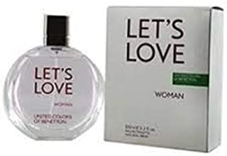Let'S Love by Benetton for Women Eau de Toilette 100ml