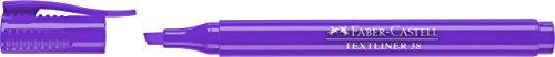 Faber-Castell 157736 - Caja con 10 marcadores fluorescentes Textliner 38, color...