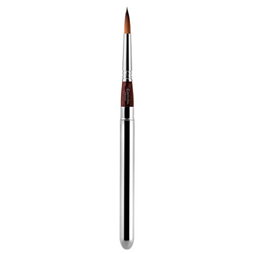 Speedball Art Products Escoda Prado Series Artist Watercolor & Acrylic Short Handle Travel Paint Brush, Size 6, Synthetic Sable