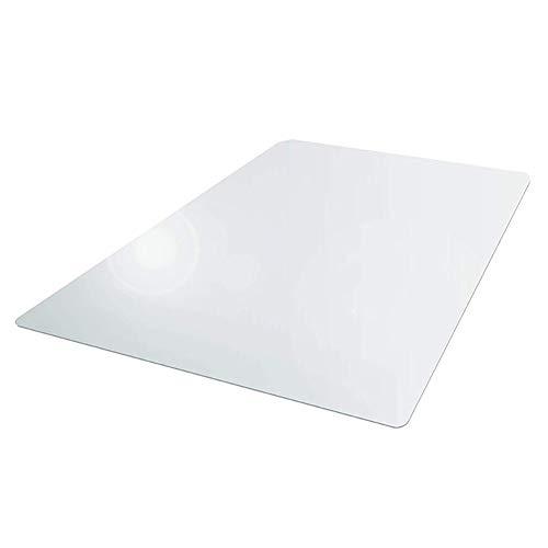 ORETG45 rutschfeste Hartbodenmatte aus transparentem PVC, rechteckig, Bodenschutzmatte für Computerstuhl, Teppich für Zuhause, Büro, Rollstuhl, nicht null, Wie abgebildet, 60 x 90 cm