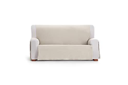 Eysa Somme Protect Funda de sofá, 100% Poliester, Crudo, 190 Cm