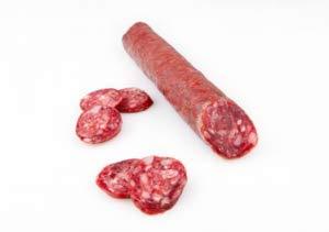 Cárnicas Dibe - Salchichon- Hirschwurst - Herkunft Extremadura SPANIEN - 100% natürlich - Traditionelle Aushärtung - Gewicht 220 g.