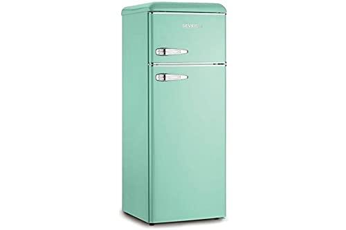 Severin KS 9909 frigorifero con congelatore Libera installazione, Turchese 209 L