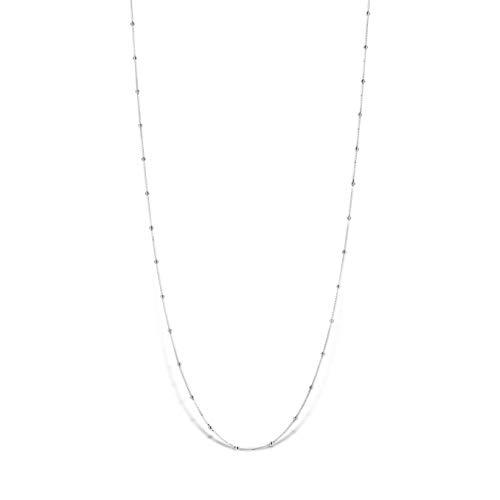 Mi Moneda halsketting Astoria 925 zilveren ketting 60-65 cm MMV-NEC-01-AST-60-65