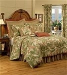 Best Prices! La Selva Natural Queen 10 Piece Bedding Ensemble by Thomasville , 18 Bed Skirt