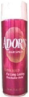 ADORN Hair Spray: Extra Hold for Long Lasting, Touchable Hold 7.5 Oz