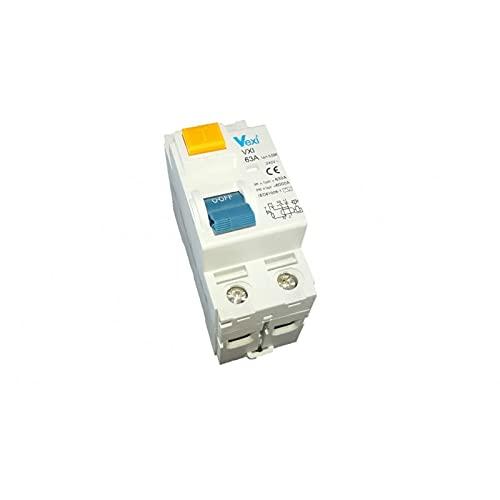 Vexi Interruptor diferencial 2P 63A 300MA Clase AC
