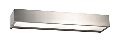 Pujol Iluminación Apolo-Aplique LED para baño, 17 W, 1400 LM, 3000 K, Acabado niquel
