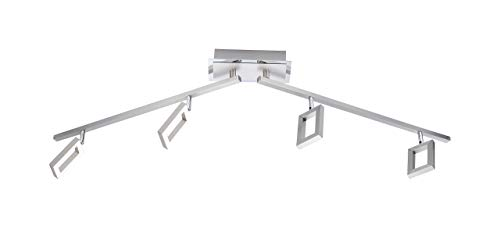 Paul Neuhaus Deckenleuchte Inigo 4x LED-Board 5 W, inklusiv Stahl 6960-55