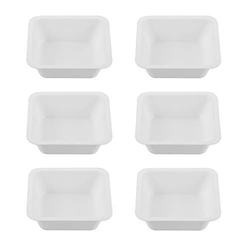 Weighing Tray- 20pcs Plastic Weighing Plate Weighing Boats Weighing Dish Laboratory Supplies