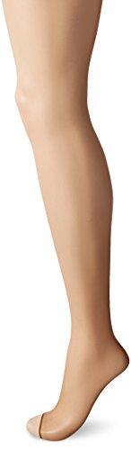 Dim Teint de Soleil 17 Deniers - Panty para mujer, dedos libres, Naranja, 42 (Talla del fabricante 3)