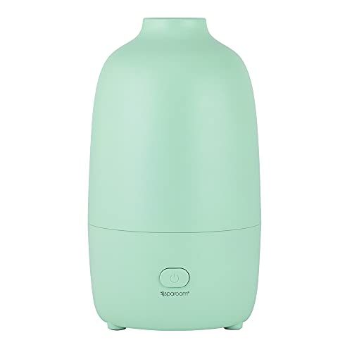 SpaRoom Ultrasonic Aromatherapy Diffuser for Medium Sized Rooms, 200 ml with Automatic Shut Off (Sage)