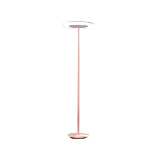 DXX-HR Lámpara de Piso, Dormitorio for niños Macarons Lámpara Minimalista nórdico LED Lámpara de pie Vertical Tricromático Rosa Claro 146x28cm - Diseño Accesorio de iluminación