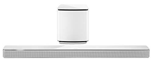 Bose 3.1 Home Theater Set (White): Soundbar 700 + Bass 700