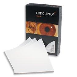 Conqueror A4-Papier brillantweiß, glatt, 500Blatt, 90g/m² Highspeed Laser
