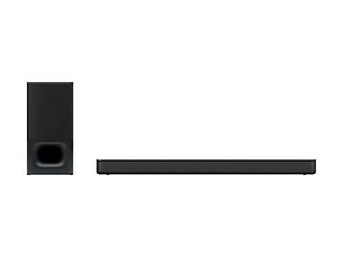 Barra de sonido de 2.1 canales con potente subwoofer inalámbrico y tecnología Bluetooth HT-S350 (2020)